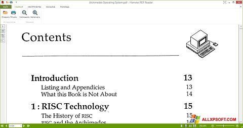 Στιγμιότυπο οθόνης Hamster PDF Reader Windows XP