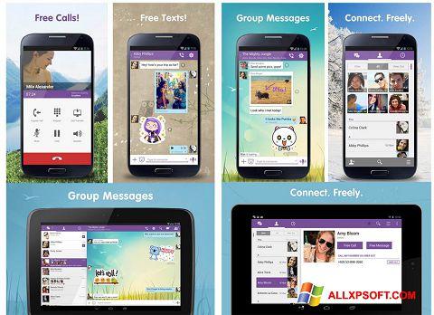 Στιγμιότυπο οθόνης Viber Windows XP