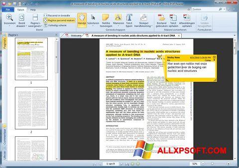 Στιγμιότυπο οθόνης Nitro PDF Reader Windows XP