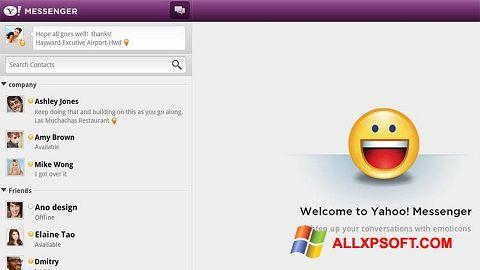 Στιγμιότυπο οθόνης Yahoo! Messenger Windows XP