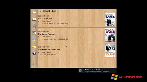 Στιγμιότυπο οθόνης Cool Reader Windows XP