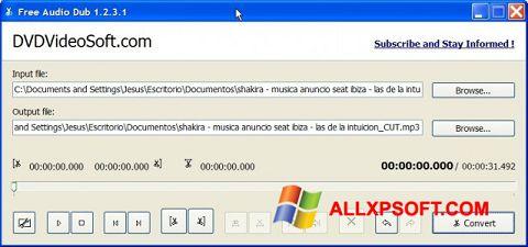 Στιγμιότυπο οθόνης Free Audio Dub Windows XP