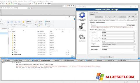 Στιγμιότυπο οθόνης Cygwin Windows XP