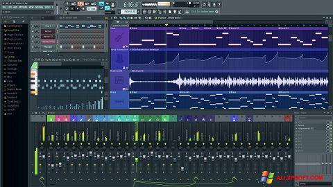 Στιγμιότυπο οθόνης FL Studio Windows XP