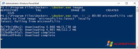 Στιγμιότυπο οθόνης Windows PowerShell Windows XP
