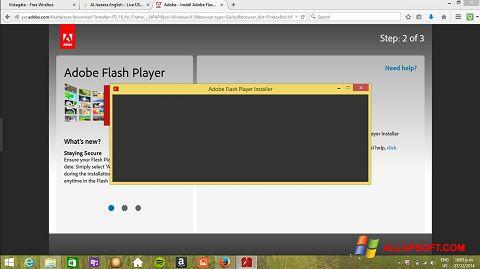 Στιγμιότυπο οθόνης Adobe Flash Player Windows XP