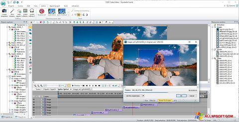 Στιγμιότυπο οθόνης VSDC Free Video Editor Windows XP