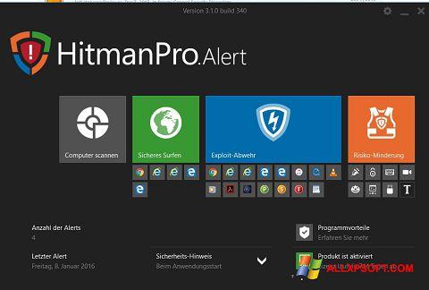 Στιγμιότυπο οθόνης HitmanPro Windows XP