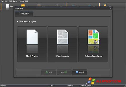 Στιγμιότυπο οθόνης PhotoMix Collage Windows XP