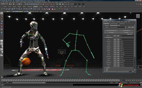 Στιγμιότυπο οθόνης Autodesk Maya Windows XP