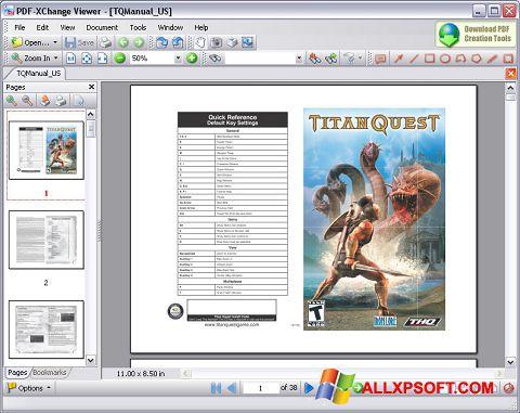 Στιγμιότυπο οθόνης PDF-XChange Viewer Windows XP