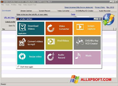Στιγμιότυπο οθόνης aTube Catcher Windows XP