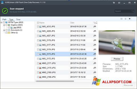 Στιγμιότυπο οθόνης USB Flash Drive Recovery Windows XP