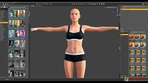 Στιγμιότυπο οθόνης DAZ Studio Windows XP