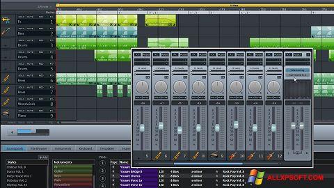 Στιγμιότυπο οθόνης MAGIX Music Maker Windows XP