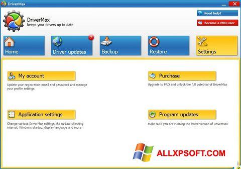 Στιγμιότυπο οθόνης DriverMax Windows XP