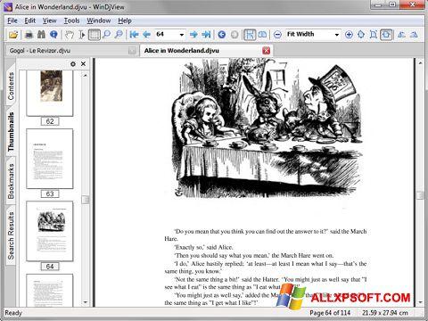Στιγμιότυπο οθόνης DjView Windows XP