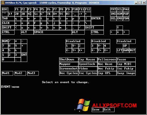 Στιγμιότυπο οθόνης DOSBox Windows XP