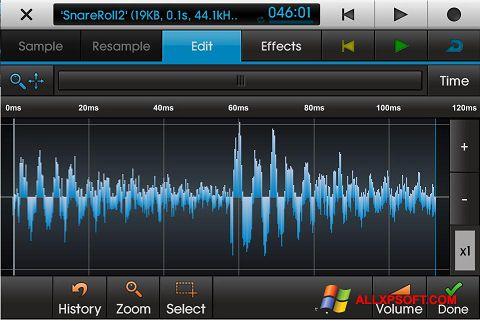 Στιγμιότυπο οθόνης NanoStudio Windows XP