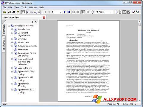 Στιγμιότυπο οθόνης WinDjView Windows XP