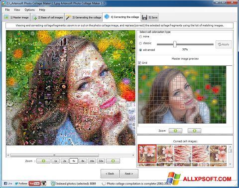 Στιγμιότυπο οθόνης Photo Collage Windows XP